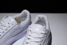 top quality puma x rihanna fenty creeper 362268 02 white patent leather men s women s fashion sneakers shoes