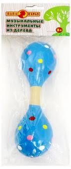 """<b>Игрушка деревянная</b>-погремушка ""<b>Папа Карло</b>"" (7120R)"" купить ..."