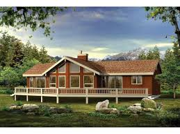 Eplans AFrame House Plan  A Grand Vacation Or Retirement Home Vacation Home Designs