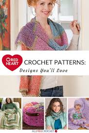 Redheart Yarn Patterns Simple Inspiration Ideas