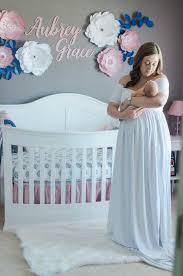 paper flower wall decor navy blue nursery decor bridal shower decor