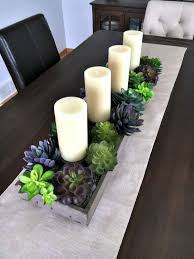kitchen table centerpiece ideas decor id like to find fake plants though kitty likes to get on the table whe