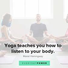 50 Yoga Quotes Celebrating Your Mind Body Spirit 2019