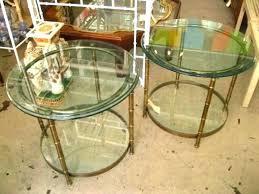 bamboo glass coffee table faux bamboo coffee table gold bamboo glass coffee table pair of vintage bamboo glass coffee table