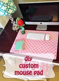 diy office projects. DIY Home Office Decor Ideas - Custom Mouse Pad Do It Yourself Desks, Diy Projects M