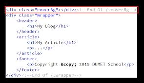 bisa kalian lihat pada html di atas saya akan memanggil background image tersebut pada html div yang sudah saya beri cl dengan nama coverbg