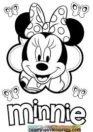 Small Picture Minnie Mouse Coloring Pages Mickey Mouse And Minnie