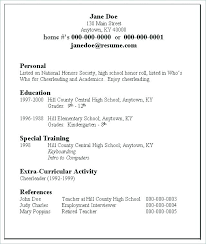 How To Make A Simple Resume For A Job Sample Professional Resume Gorgeous Create A Resume Free