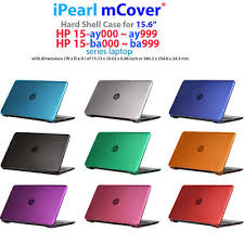 "NEW mCover® <b>Hard Shell Case</b> for 15.6"" HP 15-ay000 / 15-ba000 ..."