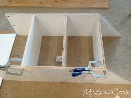 Small Picture Slanted Wall built ins with Hidden Storage My Love 2 Create