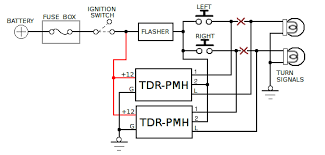 automotive time delay relay applications pushbutton turn signals diagram
