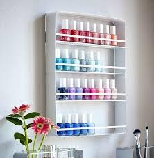 nail polish display rack wall mount nail polish rack image any image to view in