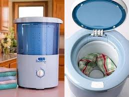 mini countertop spin dryer clothes spin dryer portable