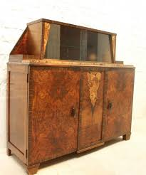 Art Deco Buffet with Display Cabinet