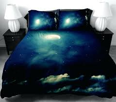 moon bedding printed moon and cloud duvet cover 2 matching pillow covers sailor moon bedding queen moon bedding