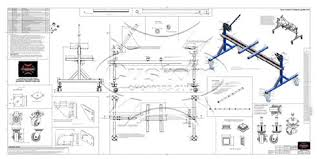 why you should only buy motorcycle frame jig blue prints from us
