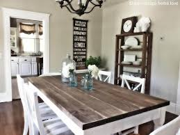 chair dining room tables rustic chairs: white rustic dining room tables ideas