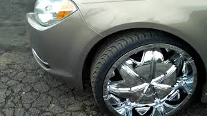 2010 Chevy Malibu on 22s Greed Craves - YouTube