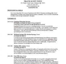 resume travis winn lone star education