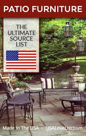 made in usa patio furniture usalovelisted patiofurniture