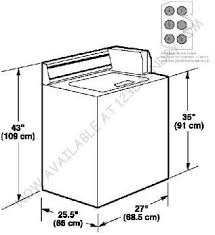 standard washing machine dimensions. Brilliant Standard Front Load Washing Machine Dimensions 5  Washer And Dryer  Standard Throughout R