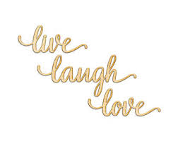 Live Laugh Love Quotes Live laugh love sign Etsy 48