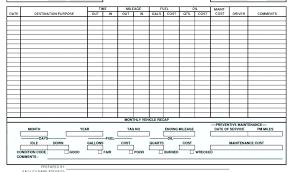 Maintenance Report Template Service Report Template Excel Car Vehicle Maintenance Free