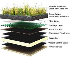 green roof build up nigel dunnett
