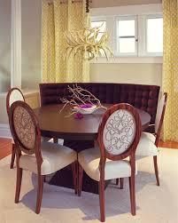 I Love The Curved Bench With These Chairs And Dining Table Could Curved Bench Dining