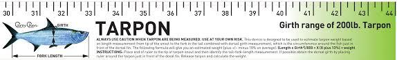 Tarpon Release Ruler Release Ruler