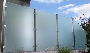 Sichtschutz Aus Glas F R Den Garten Glasprofi24