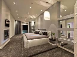 Moderne Schlafzimmer Wandspiegel Farben Gestaltung Bilder