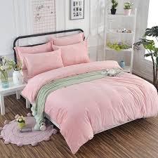 pink velvet bedding
