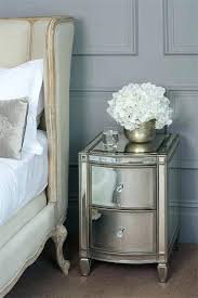 Mirrored bedside furniture Next Bedrooms Ideas Ikea Mirrored Side Table With Drawer Mirror Bedside Tables Brand New Modern Flower Picture Andymayberrycom Drawers And Bedside Tables Covered With Mirrors Chukanova