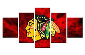 chicago blackhawks wall art wall art wall art picture modern home decoration living room or bedroom