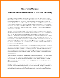 7 Grad School Statement Of Purpose Sample Fancy Resume