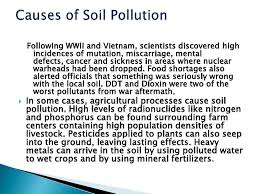 soil pollution health effect of the soil 5