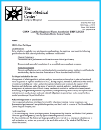 Nurse Anesthetist Resume Perfect Crna Resume To Get Noticed By Company Nurse Anesthetist 9