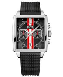 hugo boss watch men s chronograph black textured rubber strap hugo boss watch men s chronograph black textured rubber strap 39mm 1512731