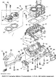 1994 yamaha wave raider ra700s oem parts babbitts yamaha partshouse cylinder crankcase