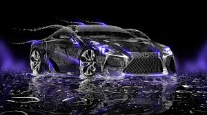 lexus lf lc water car