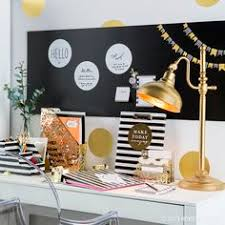 diy office decor. If Creating A Fabulous Workspace Is On Your To-do List, Here\u0027s Some  Inspiration · Chic Office DecorOffice Diy Decor O