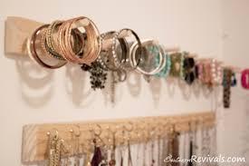 diy built in jewelry organizer