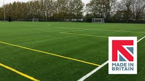 synthetic turf grass pitch field