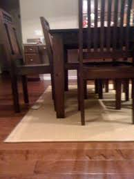 rug to dining table ratio photo 2 jpg
