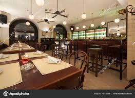 Stylish Modern Design Cafe Bar Vintage Style Stock Photo