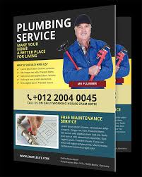 Handyman Flyer Template Delectable Plumbing Flyers Templates Free Sportsbuffpub