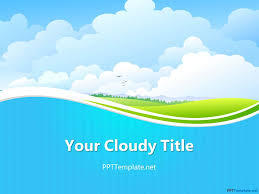 wave powerpoint templates free sky ppt template ppt pinterest free sky ppt template