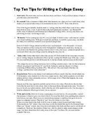 top%ten%tips%for%writing%a% by brian fitzgerald issuu page 1