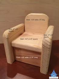 barbie wood furniture. Unfinished Wood Barbie Chair With Fabric Measurements For DIY Upholstering Furniture I